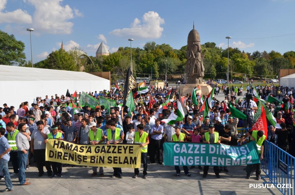 Konya'daki GAZZE mitingi 9