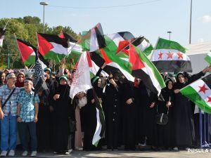 Konya'daki GAZZE mitingi