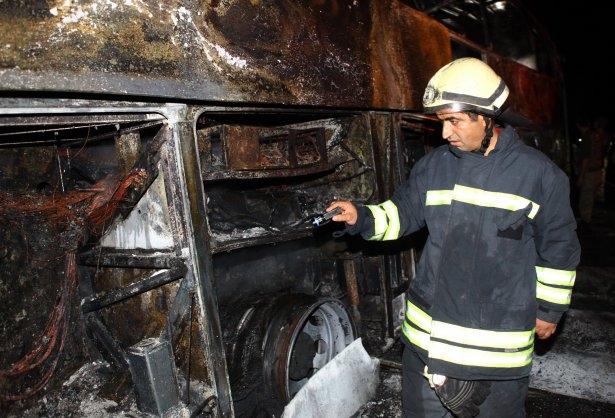Lice'de LPG yüklü tanker patladı 18