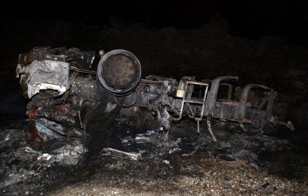 Lice'de LPG yüklü tanker patladı 31