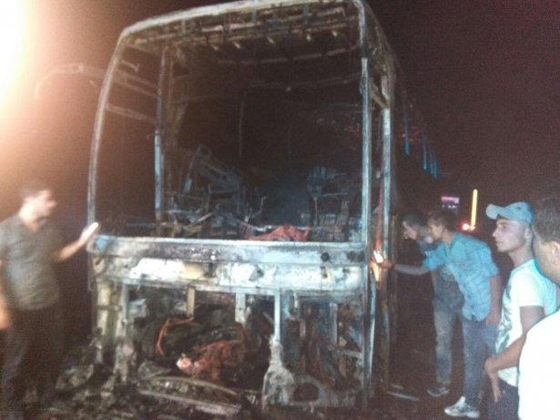 Lice'de LPG yüklü tanker patladı 7