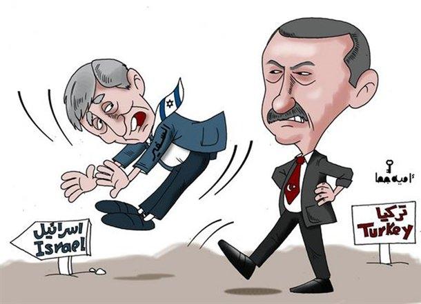 Arap çizerler Arap liderleri böyle rezil etti 4