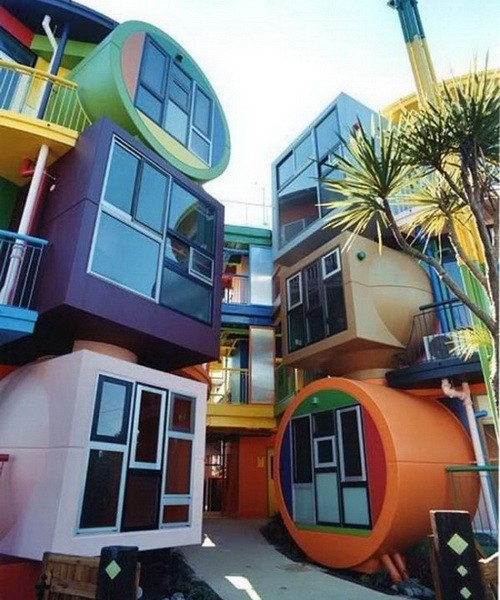 Dünyanın en ilginç mimarileri 16