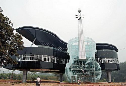 Dünyanın en ilginç mimarileri 20