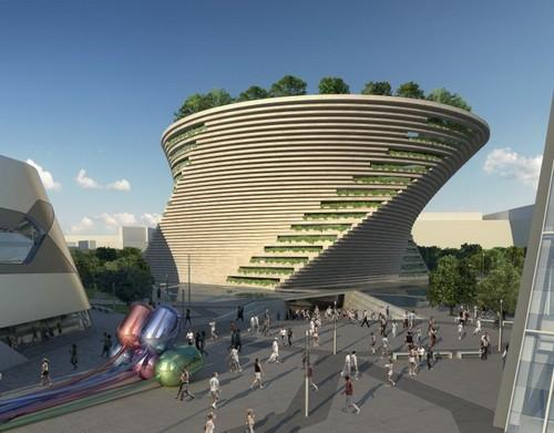 Dünyanın en ilginç mimarileri 22