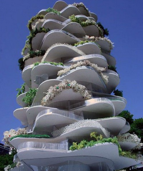 Dünyanın en ilginç mimarileri 7