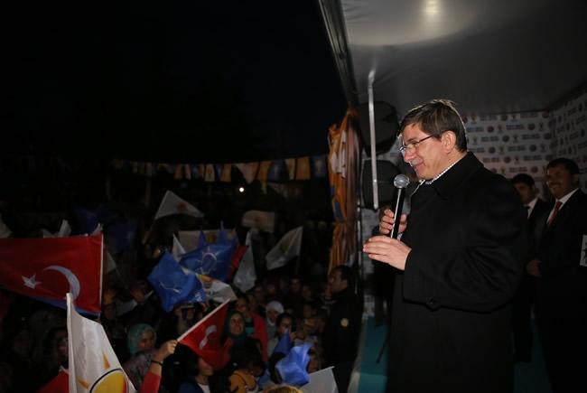 Bakan Davutoğlu Konya'da 2 2