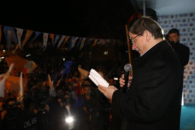 Bakan Davutoğlu Konya'da 2 5