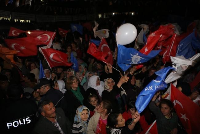 Bakan Davutoğlu Konya'da 2 6