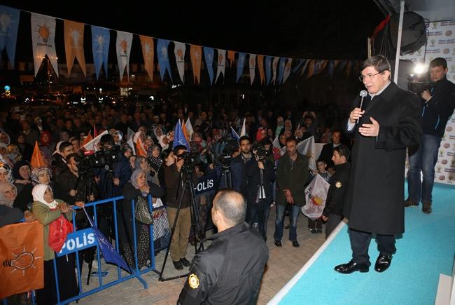 Bakan Davutoğlu Konya'da 2 8