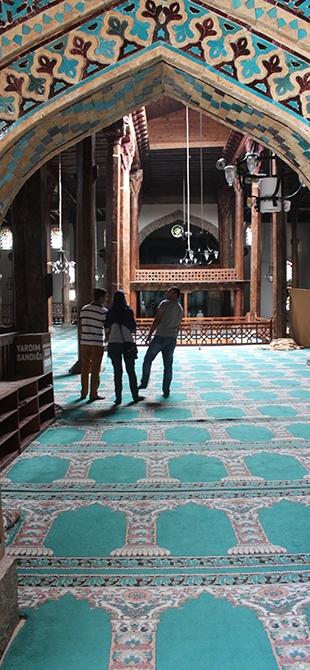 """Tarihi Eşrefoğlu Camii, """"Kalıcı Dünya Mirası"""" Olmaya Aday 17"""