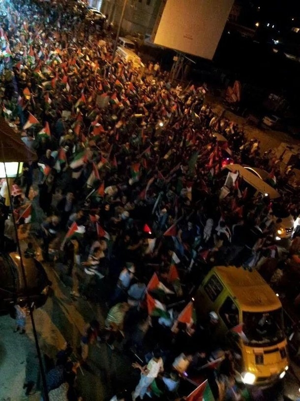 Tüm Filistin Gazze için ayaklandı 5