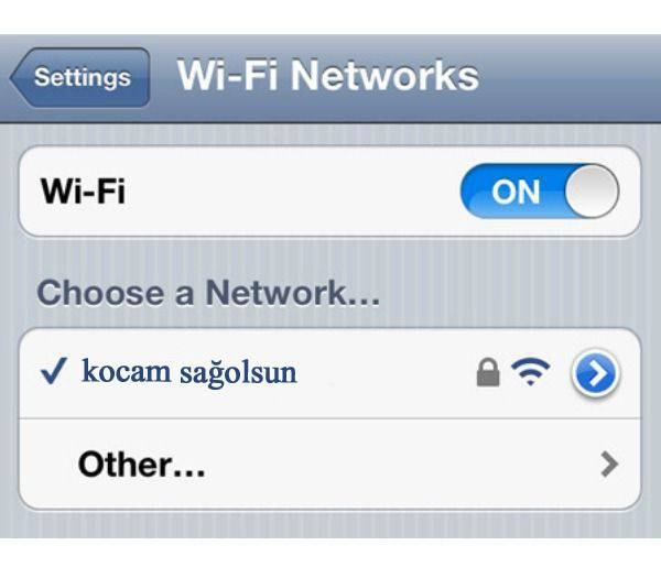 İşte en komik wifi isimleri 13