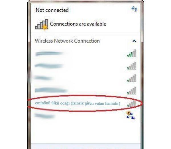 İşte en komik wifi isimleri 26