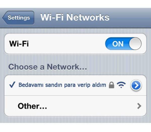 İşte en komik wifi isimleri 30