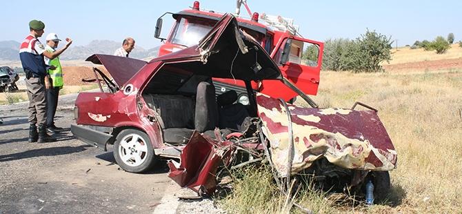 Konya'da İki Otomobil Çarpıştı: 1 Ölü, 3 Yaralı 6