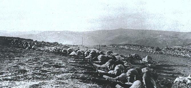 Etkileri bir asırdır süren 1. Dünya Savaşı bu karelerde 37