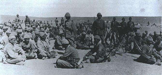 Etkileri bir asırdır süren 1. Dünya Savaşı bu karelerde 50
