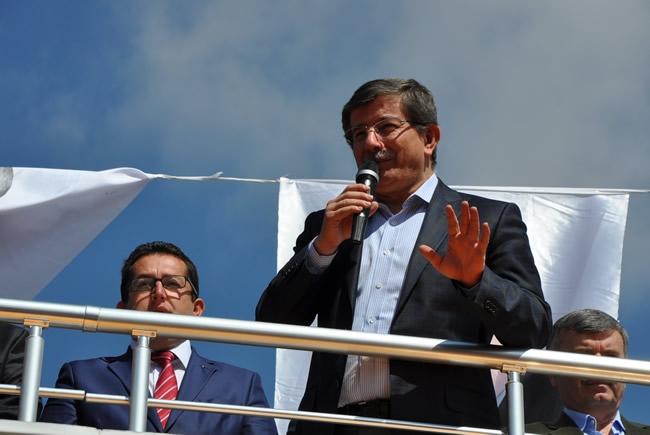 Bakan Davutoğlu Konya'da 3 1