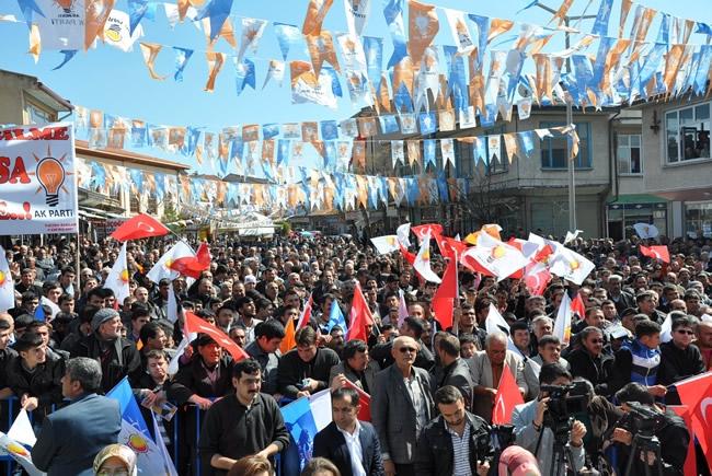 Bakan Davutoğlu Konya'da 3 2