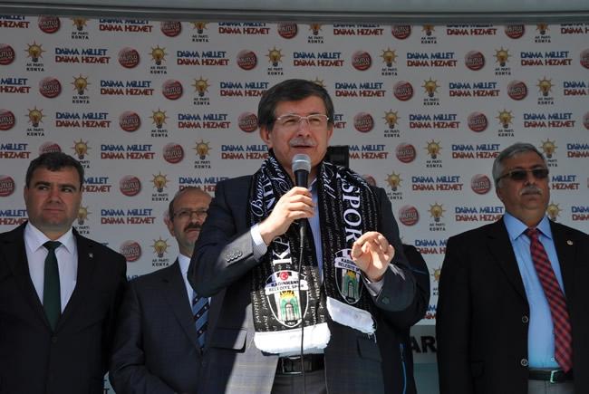 Bakan Davutoğlu Konya'da 3 3