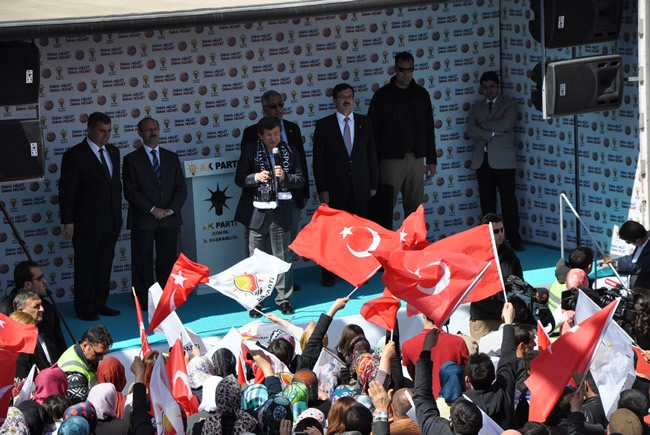 Bakan Davutoğlu Konya'da 3 4