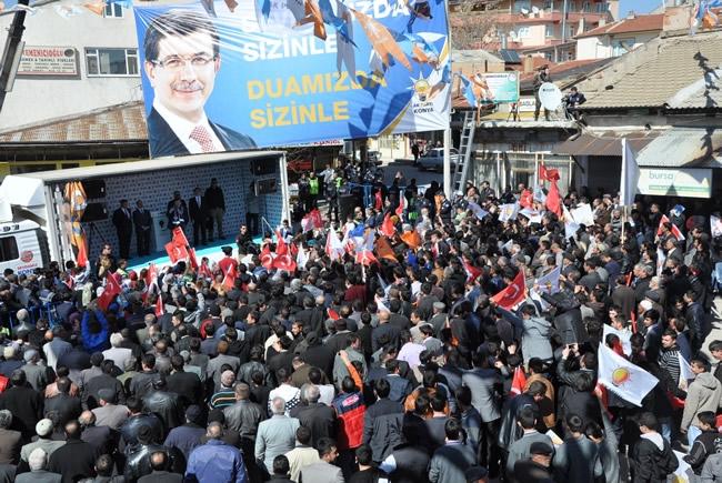 Bakan Davutoğlu Konya'da 3 5