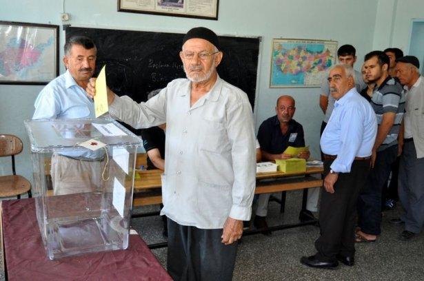 Türkiye genelinde oy verme işlemi başladı 1