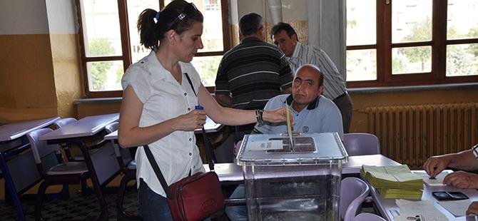 Türkiye genelinde oy verme işlemi başladı 17