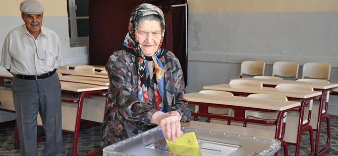 Türkiye genelinde oy verme işlemi başladı 18