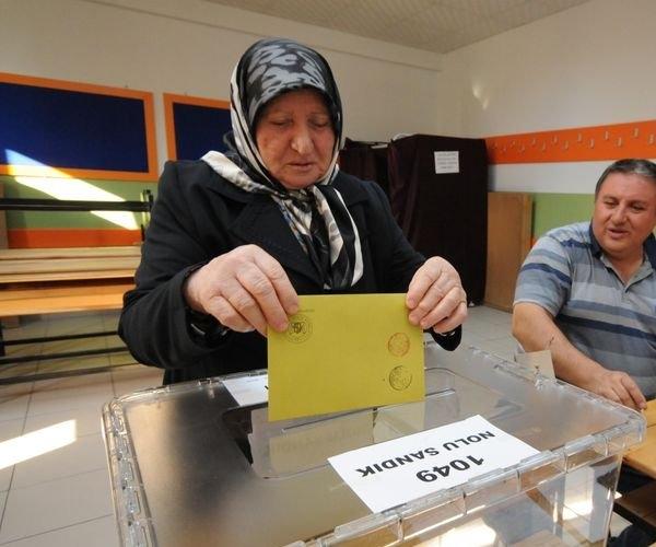 Türkiye genelinde oy verme işlemi başladı 19
