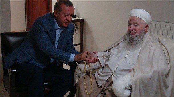 Erdoğan'dan Mahmut Efendi'ye ziyaret 3