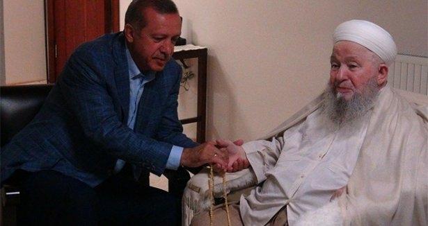 Erdoğan'dan Mahmut Efendi'ye ziyaret 5