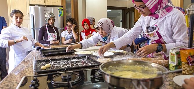 Selçuklu ve Osmanlı mutfağını öğreniyorlar 10