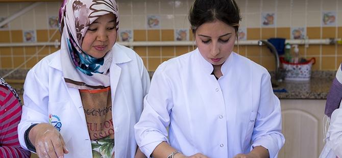 Selçuklu ve Osmanlı mutfağını öğreniyorlar 11