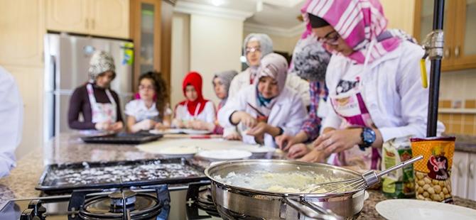 Selçuklu ve Osmanlı mutfağını öğreniyorlar 12