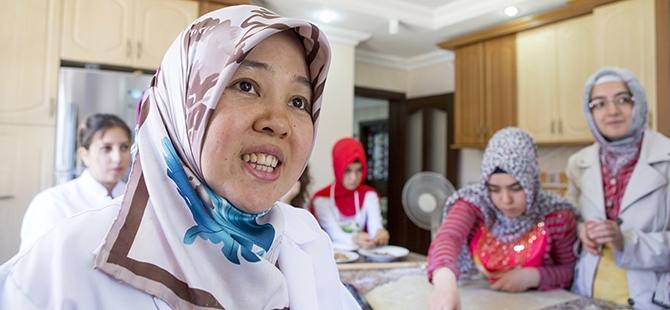 Selçuklu ve Osmanlı mutfağını öğreniyorlar 14