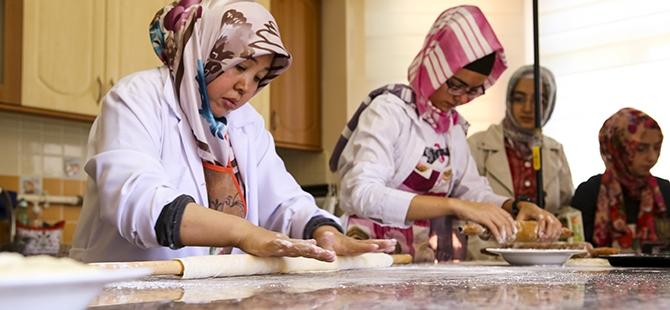 Selçuklu ve Osmanlı mutfağını öğreniyorlar 2