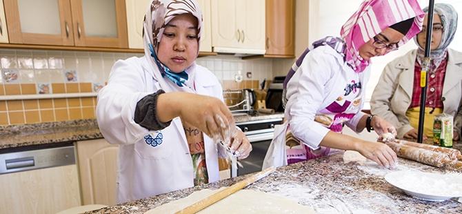Selçuklu ve Osmanlı mutfağını öğreniyorlar 5