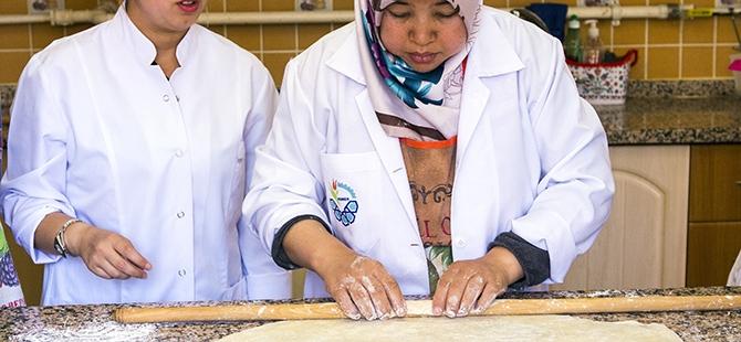 Selçuklu ve Osmanlı mutfağını öğreniyorlar 8