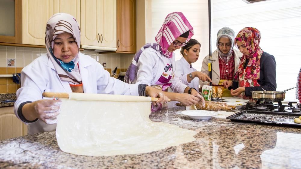 Selçuklu ve Osmanlı mutfağını öğreniyorlar 9