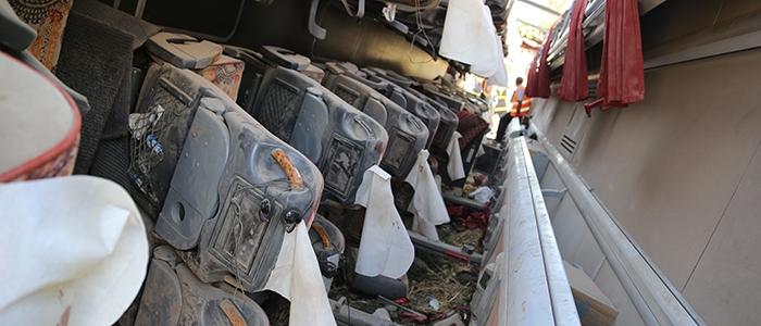 Aksaray'da feci kaza: 6 ölü 1