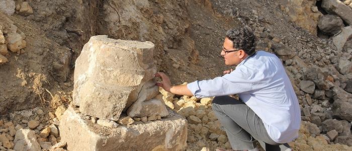 Tarihi mozaikler definecilerin tahribatıyla bulundu 1