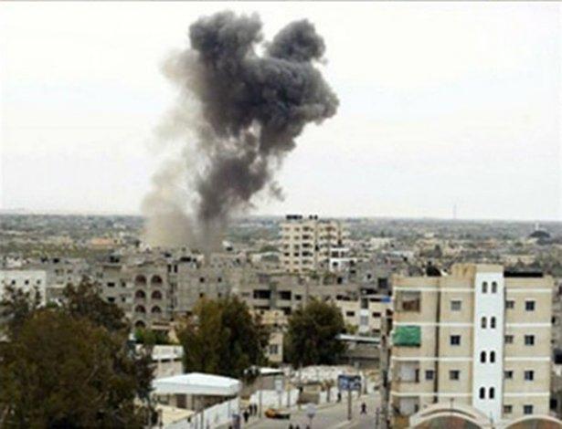 Gazze'ye düşen füzelerdeki gizli silüetler 32