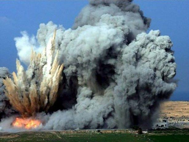 Gazze'ye düşen füzelerdeki gizli silüetler 38