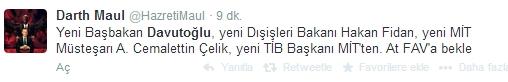 Sosyal medyada Davutoğlu sesleri 11