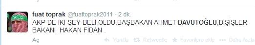 Sosyal medyada Davutoğlu sesleri 12