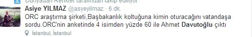 Sosyal medyada Davutoğlu sesleri 15