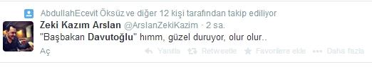 Sosyal medyada Davutoğlu sesleri 2