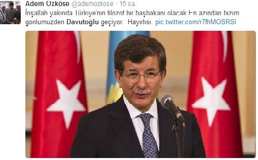 Sosyal medyada Davutoğlu sesleri 4